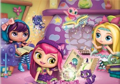 Little Charmers Puzzle din Cuburi