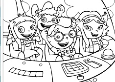 Little Einsteins de Colorat