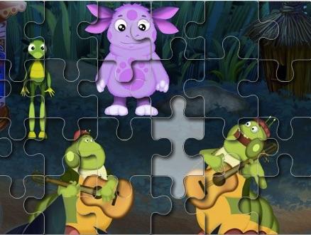 Luntik Puzzle