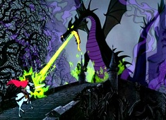 Maleficent Dragon Puzzle