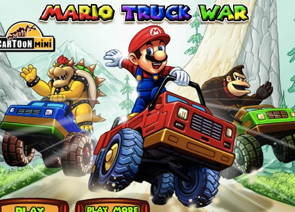 Mario cu Camioane