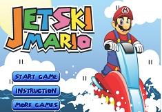 Mario cu Jetskiul si Fantoma