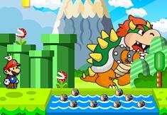 Mario si Luigi Salveaza Printesa…