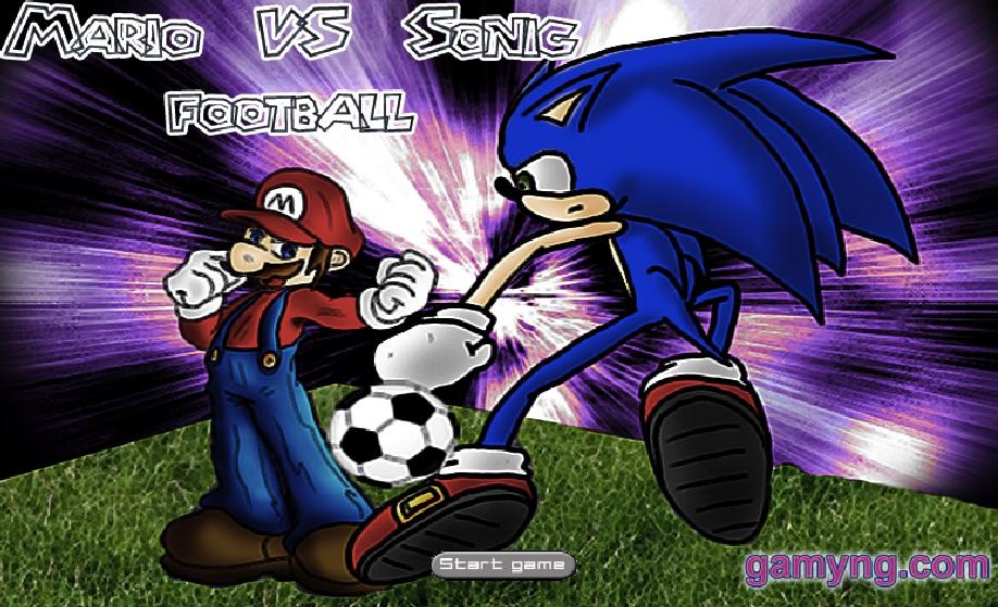 Mario si Sonic Fotbal