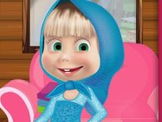 Masha si Costumele Frozen