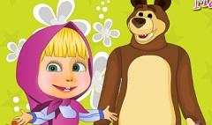 Masha si Ursul Decoreaza Gradina