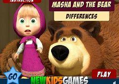 Masha si Ursul Diferente