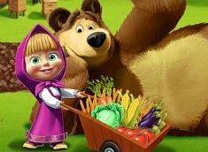 Masha si Ursul la Ferma