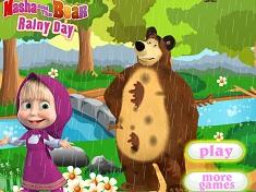 Masha si Ursul Zi Ploioasa