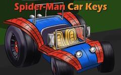 Masina Spiderman Chei Ascunse
