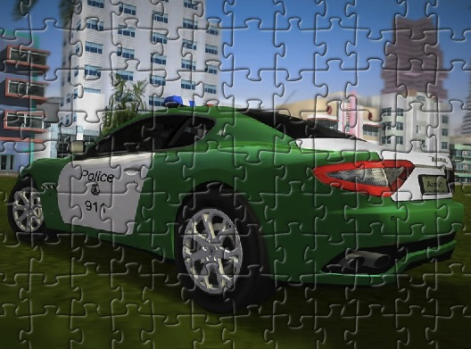 Masserati de Politie Puzzle