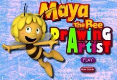 Maya Albinuta de Colorat