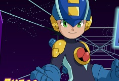 Mega Man si Cursa prin Spatiu