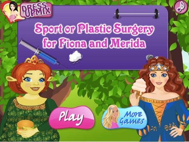 Merida si Fiona Sport sau Operatie
