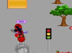 Mickey Mouse cu Skateboardul