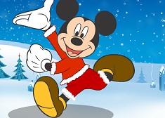 Mickey Mouse si Tinuta de Craciun