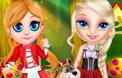 Micuta Elsa si Scufita Rosie