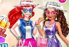 Moana vs Ariel si Moda de Plastic