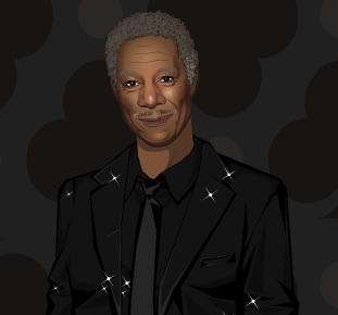 Morgan Freeman de Imbracat