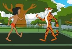 Mowgli Boxeaza cu Tigrul