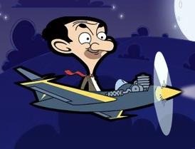 Mr Bean cu Avionul