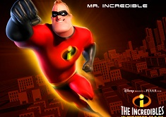 Mr Incredibil Poster