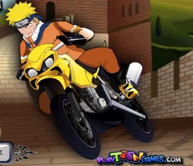 Naruto Campionat cu Motociclete