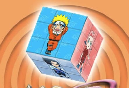 Naruto Cubul 3D
