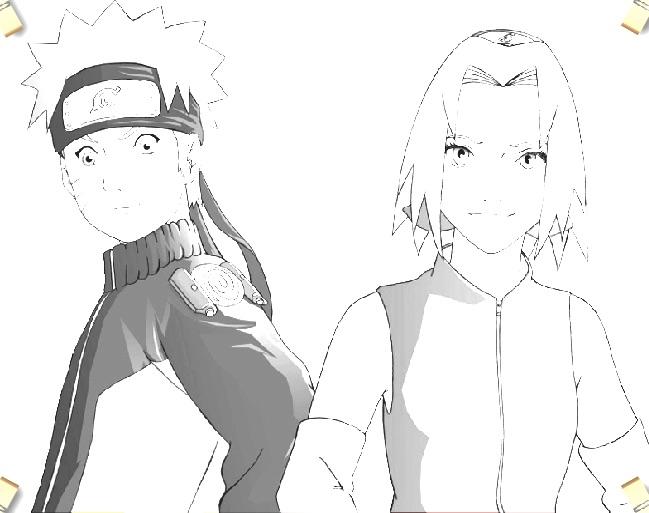 Naruto si Sakura