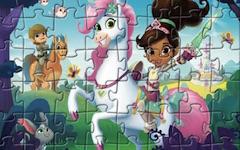 Nella Printesa Cavaler Puzzle cu Personaje