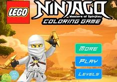Ninjago de Colorat