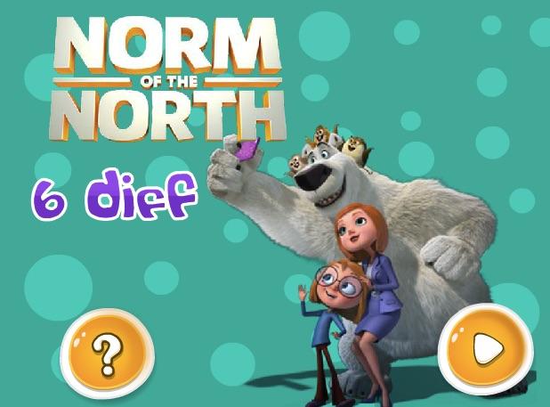 Norm de la Polul Nord Sase Diferente