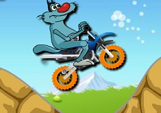 Oggy pe Motocicleta