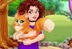 Olivia Adopta Pisica