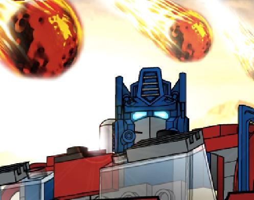 Optimus Prime Ploaia de Meteoriti