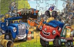 Orasul Camioanelor Puzzle