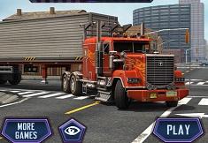 Parcari 3D cu Camioane Americane