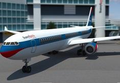 Parcari cu Avionul 3D la Aeroport