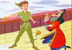Peter Pan si Hook Lupta pe Corabie