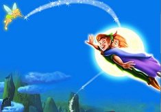 Peter Pan si Wendy Zboara