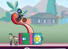Phineas si Ferb cu Bicicleta in…