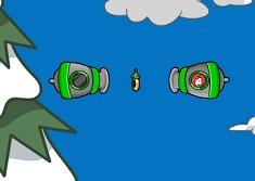 Pinguinul si Tunurile