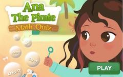 Piratul Ana Test de Matematica