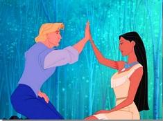 Pocahontas si John Smith Puzzle