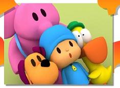 Pocoyo si Prietenii Puzzle