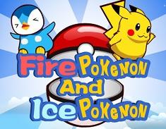 Pokemon de Foc si Pokemon de Gheata