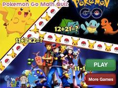 Pokemon Go Test de Matematica