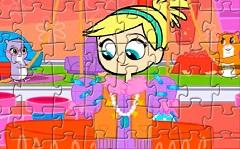 Polly si Animalele Zhu Zhu Puzzle