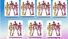Power Rangers de Memorie