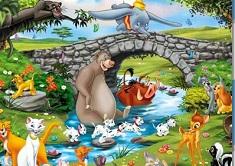 Prietenii Disney Puzzle